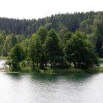 Bėlio ežero spalva. Kristinos Stalnionytės nuotr.