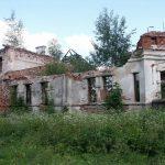 Gaidelių dvaro rūmų griuvėsiai. heritage.lt nuotr.