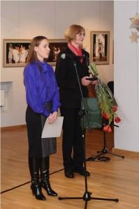 Viceministrė, Agneta Lobačevskytė, kultūros ministerijos regionų kultūros skyriaus vedėja Irena Seliukaitė