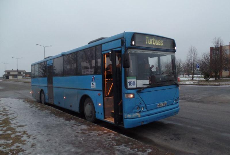 150 Autobuso grafikas kaune