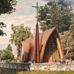 Bažnyčios vizualizacija.