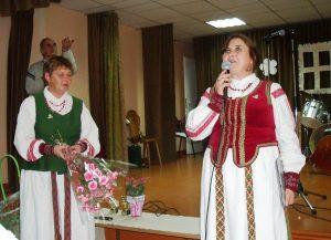 Šventės organizatorės (iš kairės) – V. Janickienė ir V. Vareikienė.