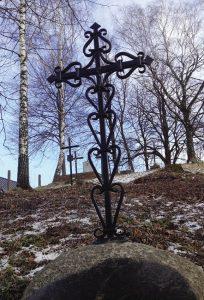 Kryžius. Stanislovas Špukas. 2015 / V.Balčyčio nuotr
