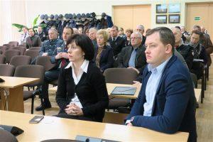 Ataskaitiniame susirinkime dalyvavo Joniškio rajono savivaldybės mero pavaduotoja Vaida Aleknavičienė, administracijos direktorius Aivaras Rudnickas