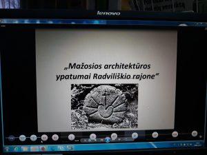 Nuotolinės konferencijos apie kryždirbystę vaizdai
