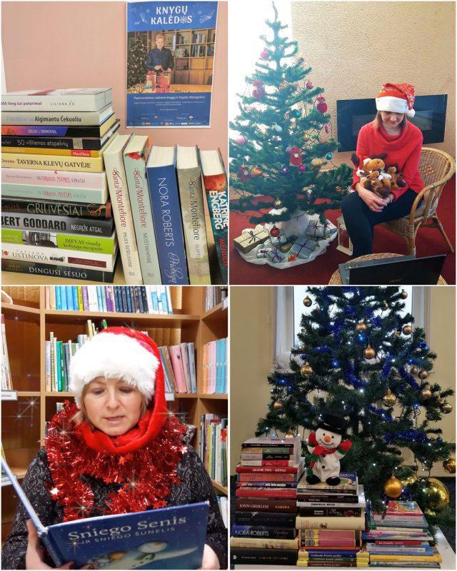 Knygų Kalėdos renginiai
