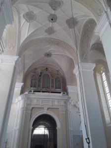 Veliuonos Švč. M. Marijos Ėmimo į dangų bažnyčios tvarkybos darbai / KIC nuotr.