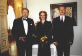 Virgilijus ir Loreta Noreikos su sūnumi Virgilijum