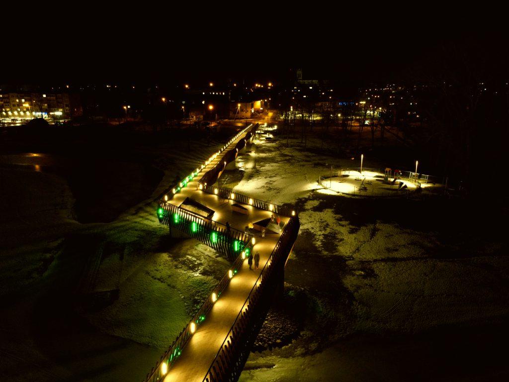 Z. Medžidovas. Kuršėnų tiltas