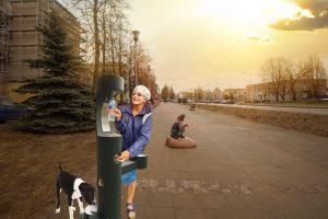 """Projektas ,,Vandens gėrimo fontanėlio įrengimas Gargždų mieste"""""""