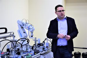 Gamybos inžinerija. Marius Kernagis / Kolegijos nuotr.