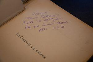 rašas knygoje 1952