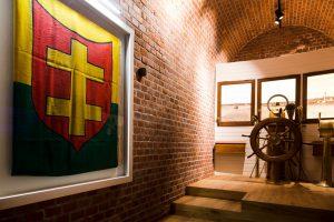 """Naujausios muziejaus ekspozicijos """"Nuo žagrės iki šturvalo. Jūrinė Lietuva 1900-1940 m."""" / Alfonso Mažūno nuotr."""
