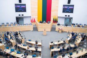 Bendras Lietuvos ir Lenkijos parlamentų minėjimas / Olgos Posaškovos nuotr.