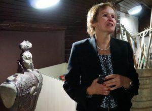Ekskursijas Punios krašto muziejuje veda Kultūros centro Punios skyriaus meno vadovė Laima Žūsinienė