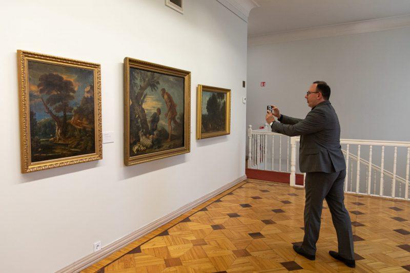 Rokiškio kolekcijos paroda Vilniuje / CDM archyvo nuotr.