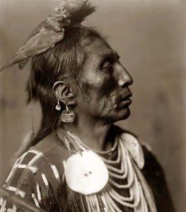 E. S. Curtis. Medicine Crow