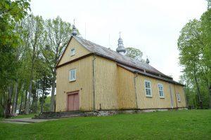 Ilguvos Šv. Kryžiaus Atradimo bažnyčia / Dariaus Pavalkio nuotr.