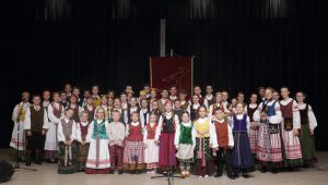"""Vaikų ir moksleivių, liaudies kūrybos atlikėjų, konkursas """"Tramtatulis"""" / A. Morkūno nuotr."""