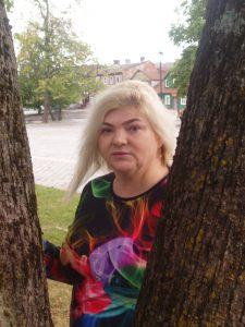 Žagarės kultūros centro renginių organizatorė Diana Sičiovienė / Broniaus Vertelkos nuotr.