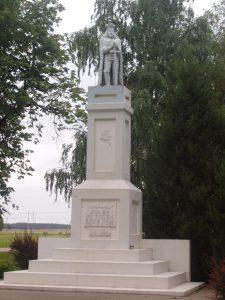 Vytauto Didžiojo paminklas Juodeikiuose / Broniaus Vertelkos nuotr.