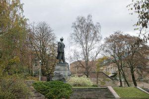 P. Cvirkos paminklas
