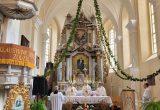 Šv. Mišių koncelebracijai vadovauja arkivyskupas Kęstutis Kėvalas / Vidmantos Ambrizienės nuotr.
